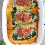 Baked Chili Rellenos with Salsa Chicken