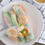 Shrimp Rice Paper Rolls- thaicaliente.com
